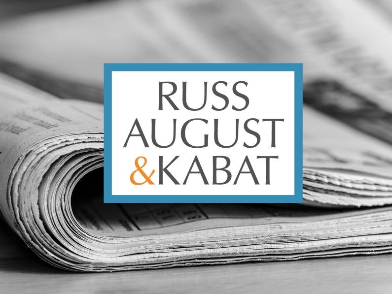 Adam Hoffman | Russ August & Kabat Law